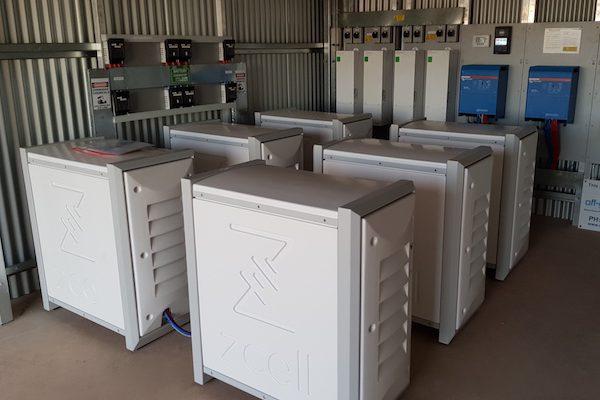 Carbon Friendly Enterprises Redflow Battery Storage Systems ZCells