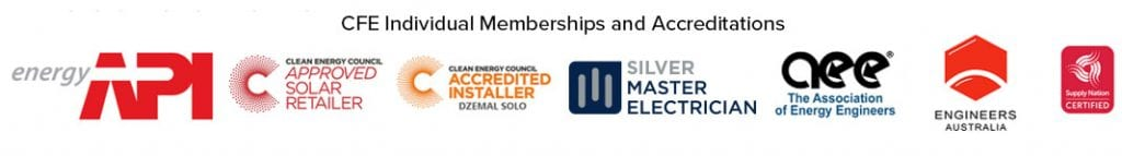 CFE individual accreditations